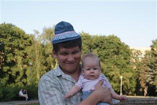 Это мы с папой, а мама у нас - ксерокс!