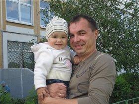 папа с Никиткой