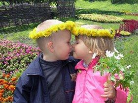 Как две капли - два цветочка