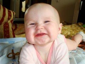 Первые зубки))))))))))УРА!!! 7мес