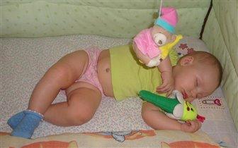 мой сонный ангелочек Соня