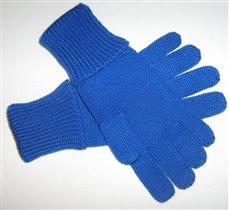 Перчатки(машинное вязание)