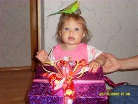 Ветин первый День Рождения