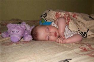 за день Мы устали очень,скажем всем спокойной ночи