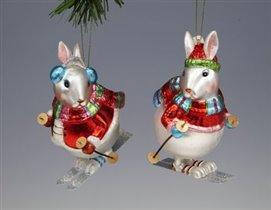 кролик-лыжник