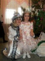 Cнегурочка и маленькая фея!