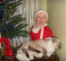 Маленький Мороз и его помощник!