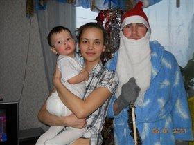 Вот такой Дед Мороз приходил к снеговичку Максиму!