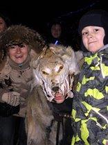 в шкуре волка