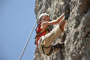 Тренировка на рельефе, мыс Сарыч, июль 2010