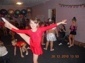 Моя любимая гимнастка