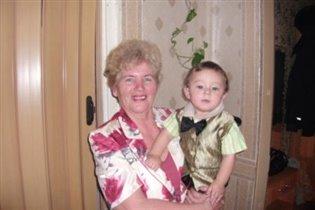 С бабулей на годик!