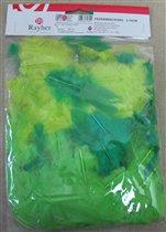 Набор декоративных перьев, 3-10 см, упаковка 10 г,