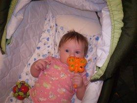 Алинушке 3 месяца