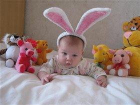 Обаятельный зайчишка!!!