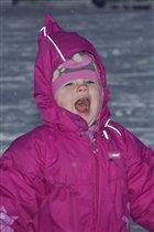 'Снежинки ртом ловила...'