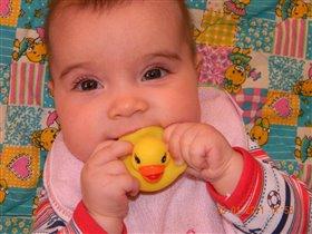 Наша любимая игрушка-погремушка)))