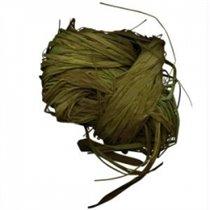 Рафия натуральная. Цвет светлый оливковый