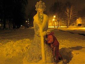 Рождественская снегурочка