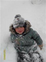 В снегу!!!!!