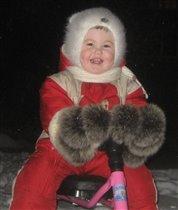 Я мороза не боюсь, улыбаюсь и смеюсь!