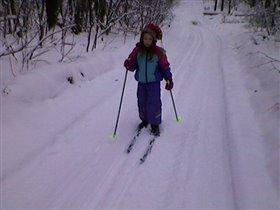 Первая лыжня