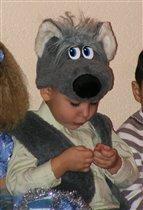 В Новый Год волки тоже добрые и послушные!