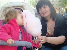 очень сахарная вата))))