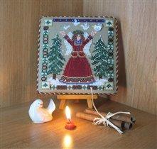 рождественский ангел от милл хилл