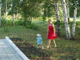 Гуляем с мамочкой