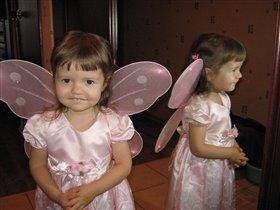 Катя -Бабочка хохотушка