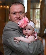 Папа с дочей