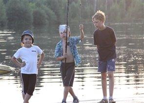 Залог удачной рыбалки - хорошая компания!