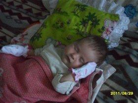 Спящая красавица-Каролиночка!