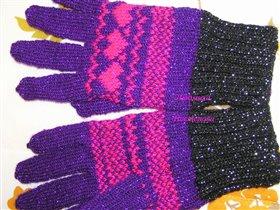 перчатки 'Сердечки'
