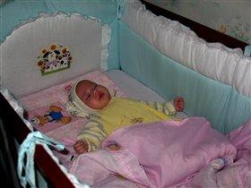 Принцессы спят вот так.