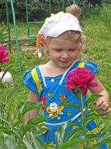 Цветочек у цветочка