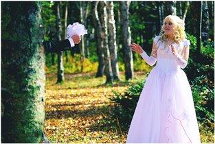 Напуганная невеста:)