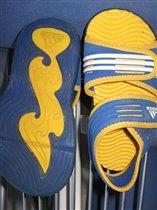 пляжные сандали адидас