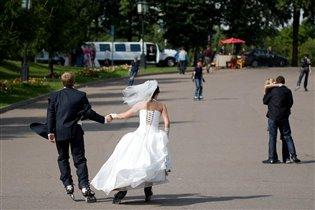Свадебные покатушки