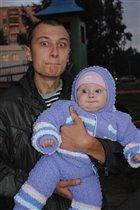 мы с папой дурачимся)