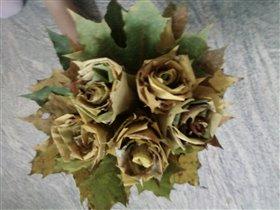 листочки цветочки