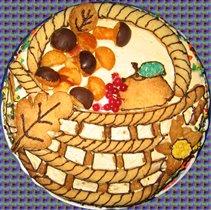 Торт 'Дары Осени'