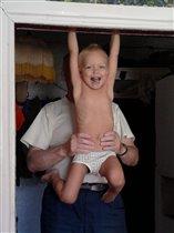 Тренировка с дедушкой