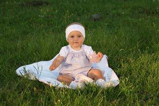 Вероника Ткаченко, 10 месяцев.