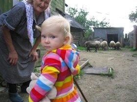 У прабабушки в деревне