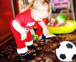 Я буду футболистом!