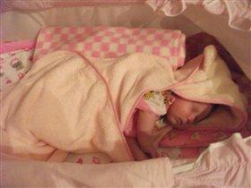 Мой ангелочек спит