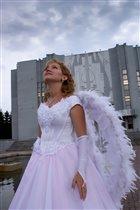 Кто сказал, что невеста - не Ангел? )))