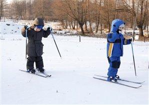 Иду на обгон! Лыжню!